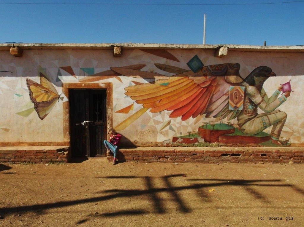 gaja mural