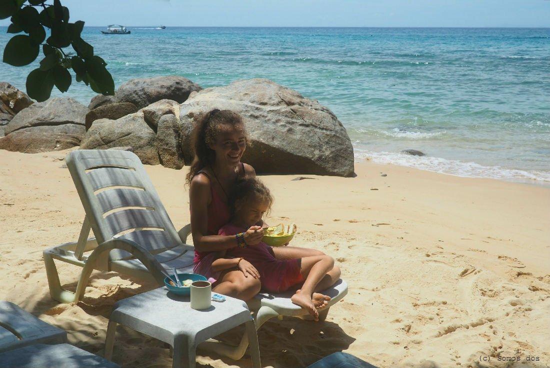 sniadanko na plazy