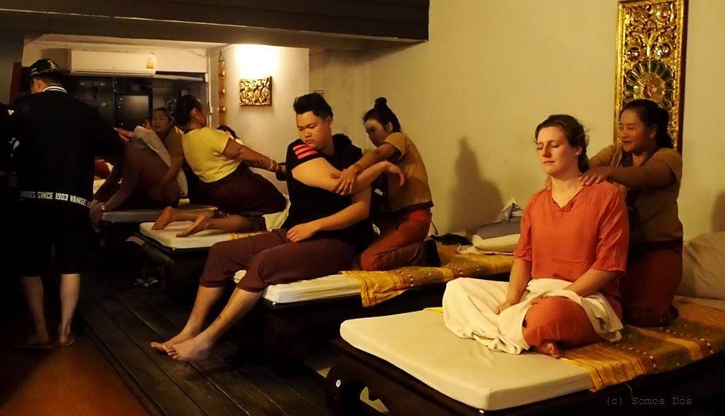Women's Massage Center, Chiang Mai, Thailand