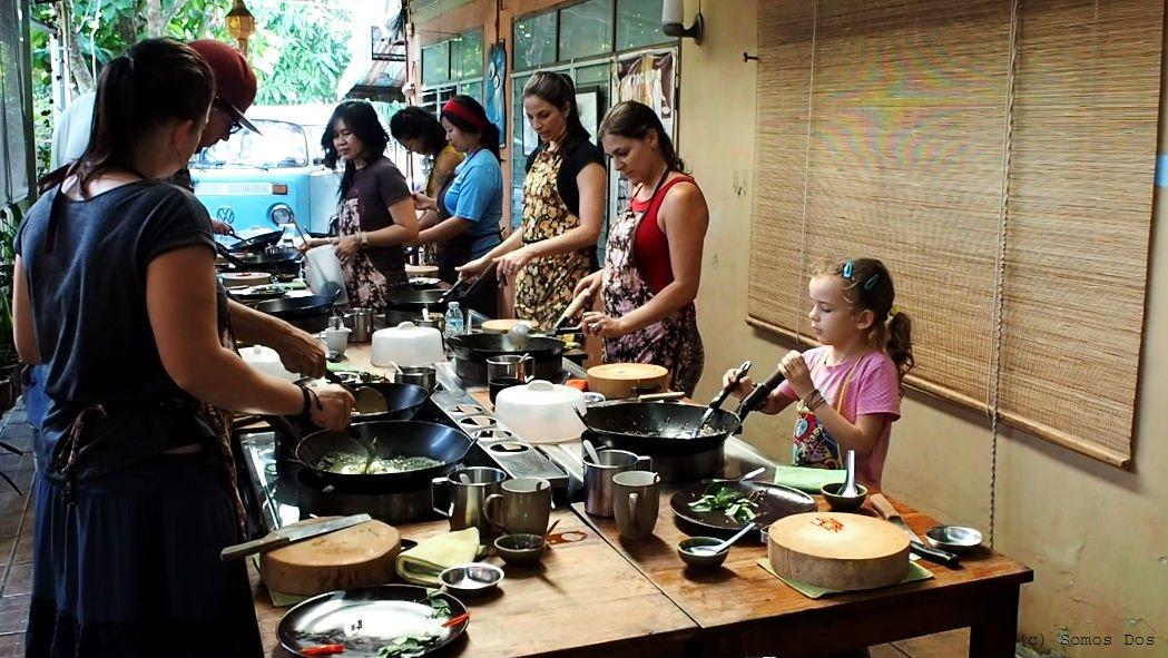 "Kurs gotowania w ""A lot of Thai"" - polecamy! Chiang Mai, Thailand"