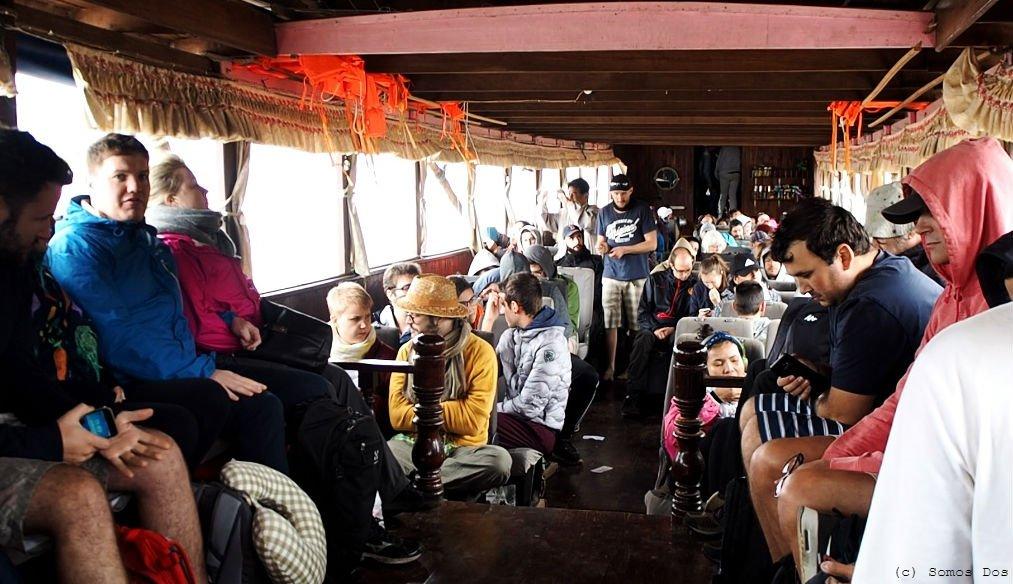 Rejs slow boat na trasie Ban Houayxay - Luang Prabang, Laos