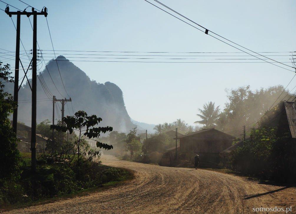 Droga do Nola Guesthouse, Ban Na Kout, Laos.