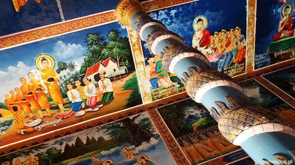 Niestety, nie jest to świątynia, gdzie można oglądać wkurzonego Buddę. Wówczas zepsuł się nasz jedyny aparat i z kilku tygodni pobytu w Laosie  nie mamy zdjęć.. :(