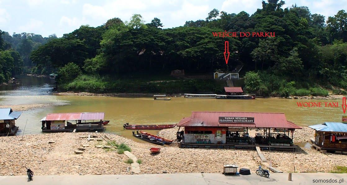 entrance taman negara, malaysia
