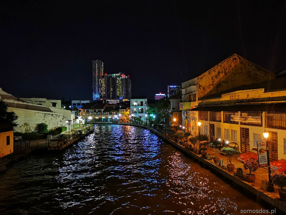 melaka river old city