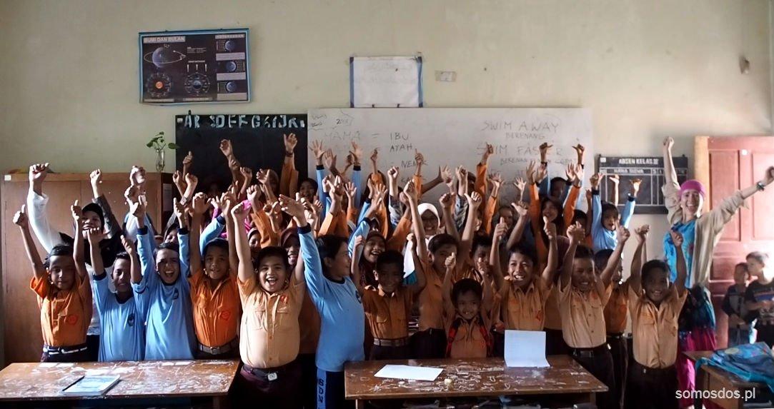 school in indonesia, sumatra, lamno