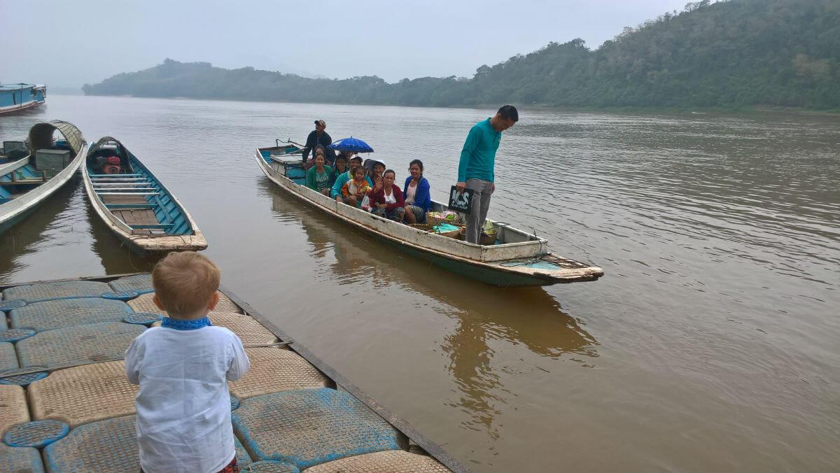 Mały Światek i wielki Mekong. fot. Honorata