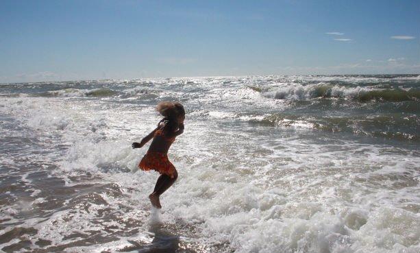 Dania, Jutlandia, Morze Północne. Lipiec 2013 roku. Fot.: archiwum autorki.
