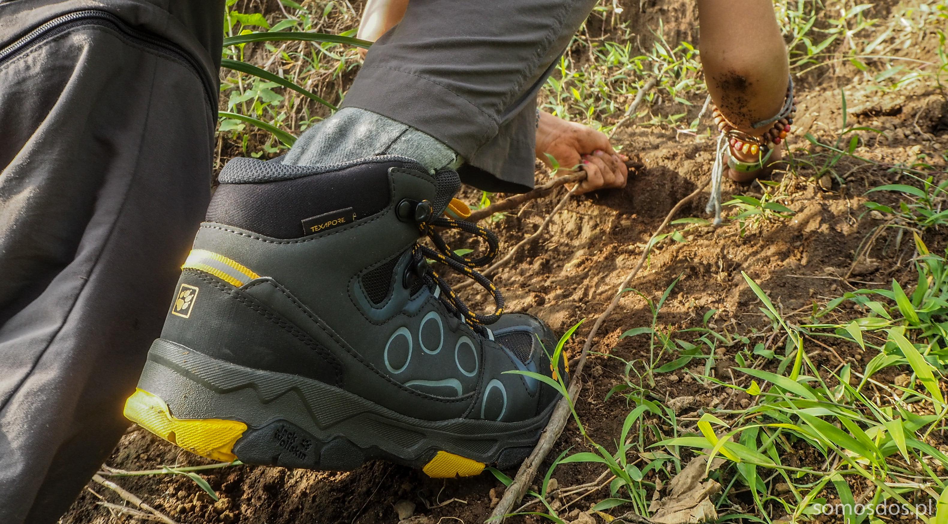 MTN Attack 2 buty trekkingowe dla dzieci jack wolfskin