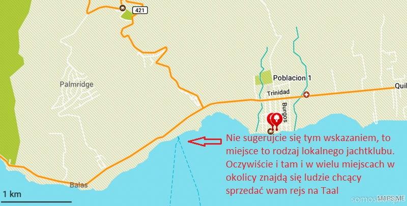 mapa Talisay