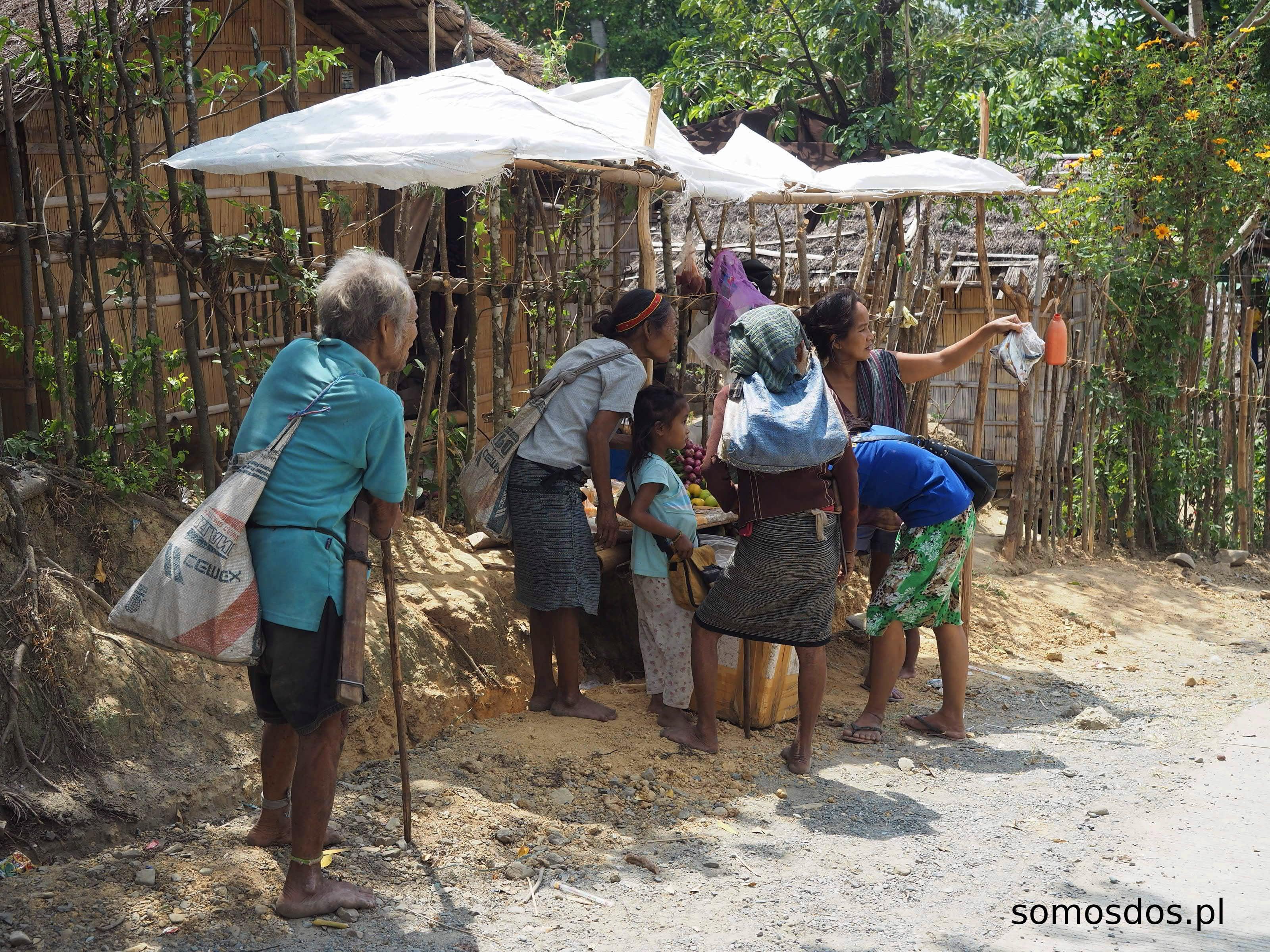 mangyan's stall, mindoro, philippines