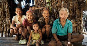 Mangyan hanonoo family