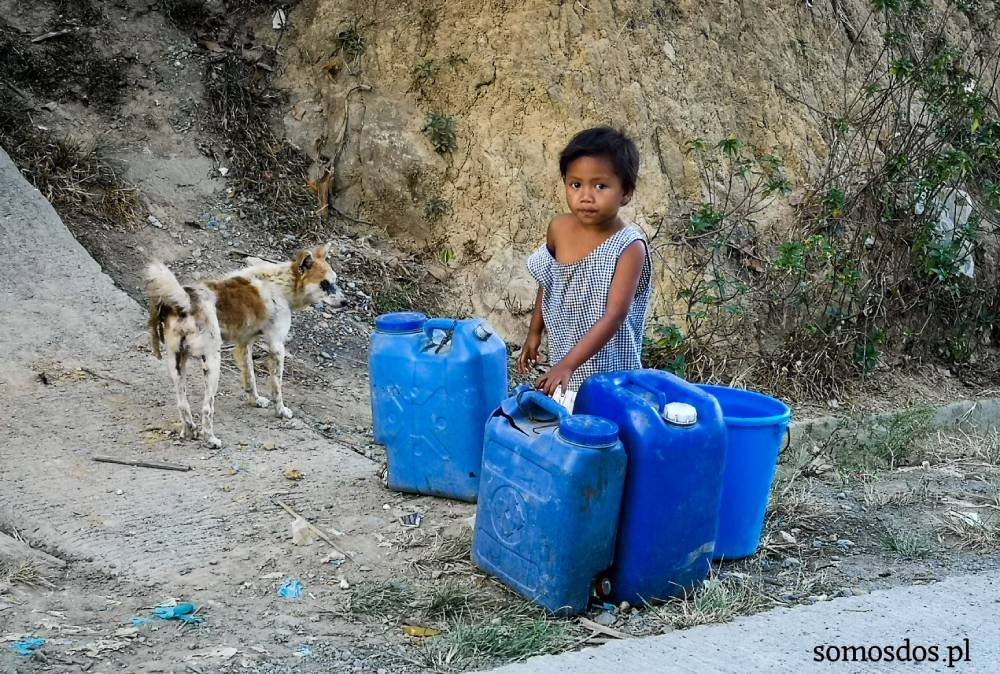 mangyan's girl and water
