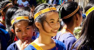 Mangyan's girl Mindoro