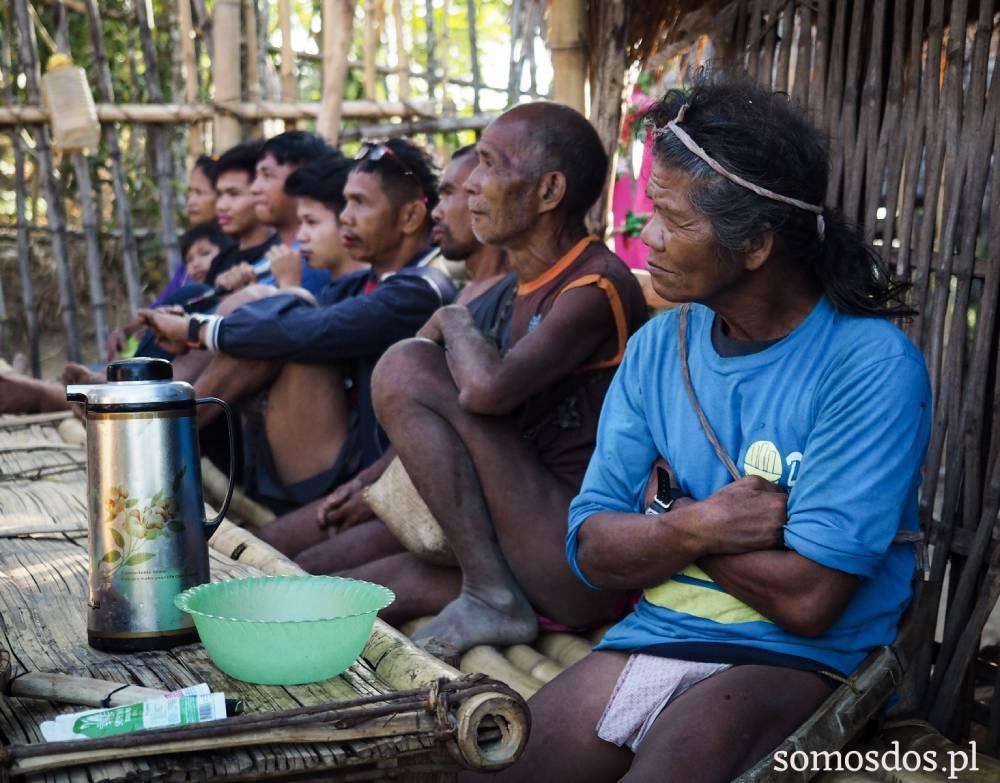 mangyanscy mezczyzni mangyans worriors