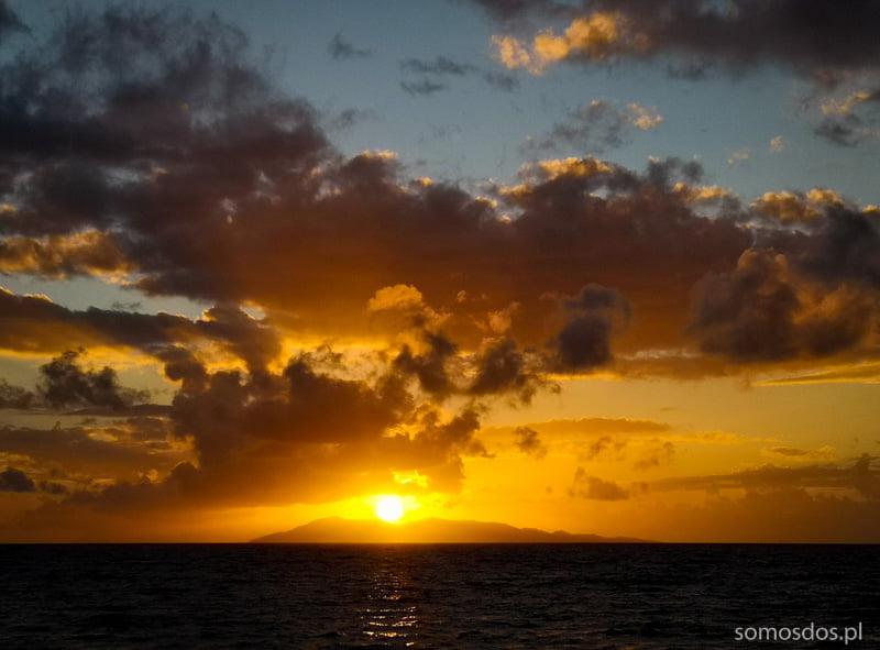 sunset mindoro philippines