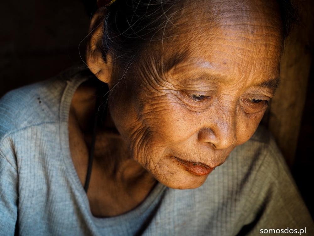 Mangyan Hanonoo woman portrait