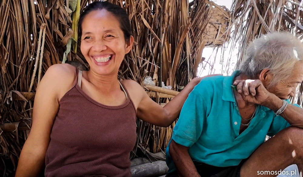 mangyan woman man ate is laughing (1 of 1)