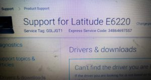 support for Latitude 6220