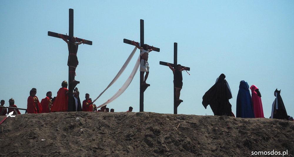 crucifixion san pedro cutud, san fernando, philippines