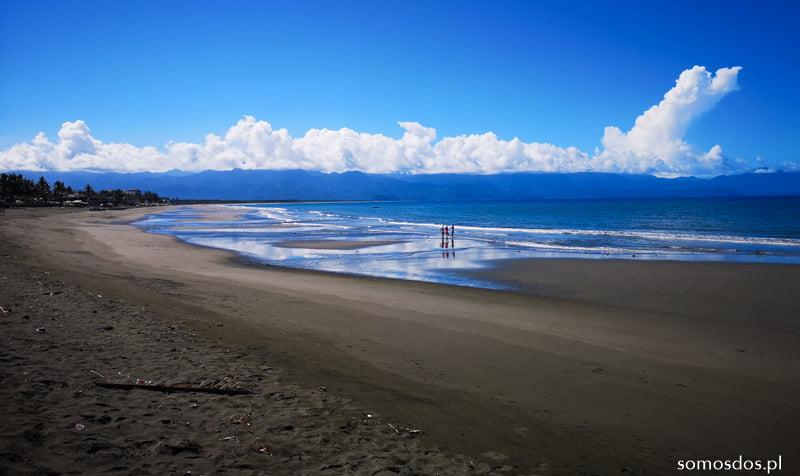 Baler beach low tide