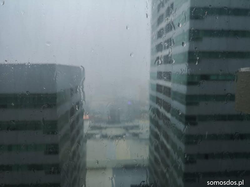deszcz manila