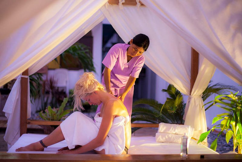 Sunny Beach Resort massage