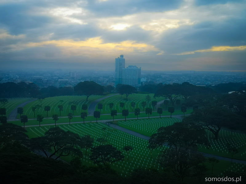 sunrise in Manila
