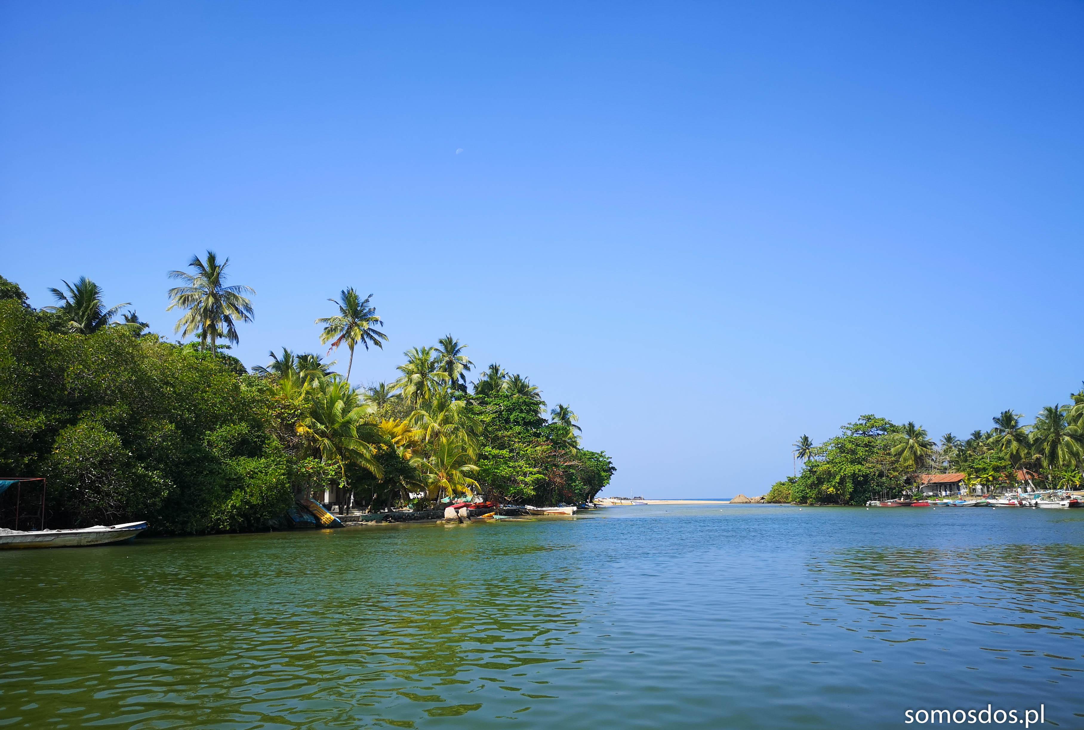 Ujścia lankijskich rzek mają w sobie wiele uroku.
