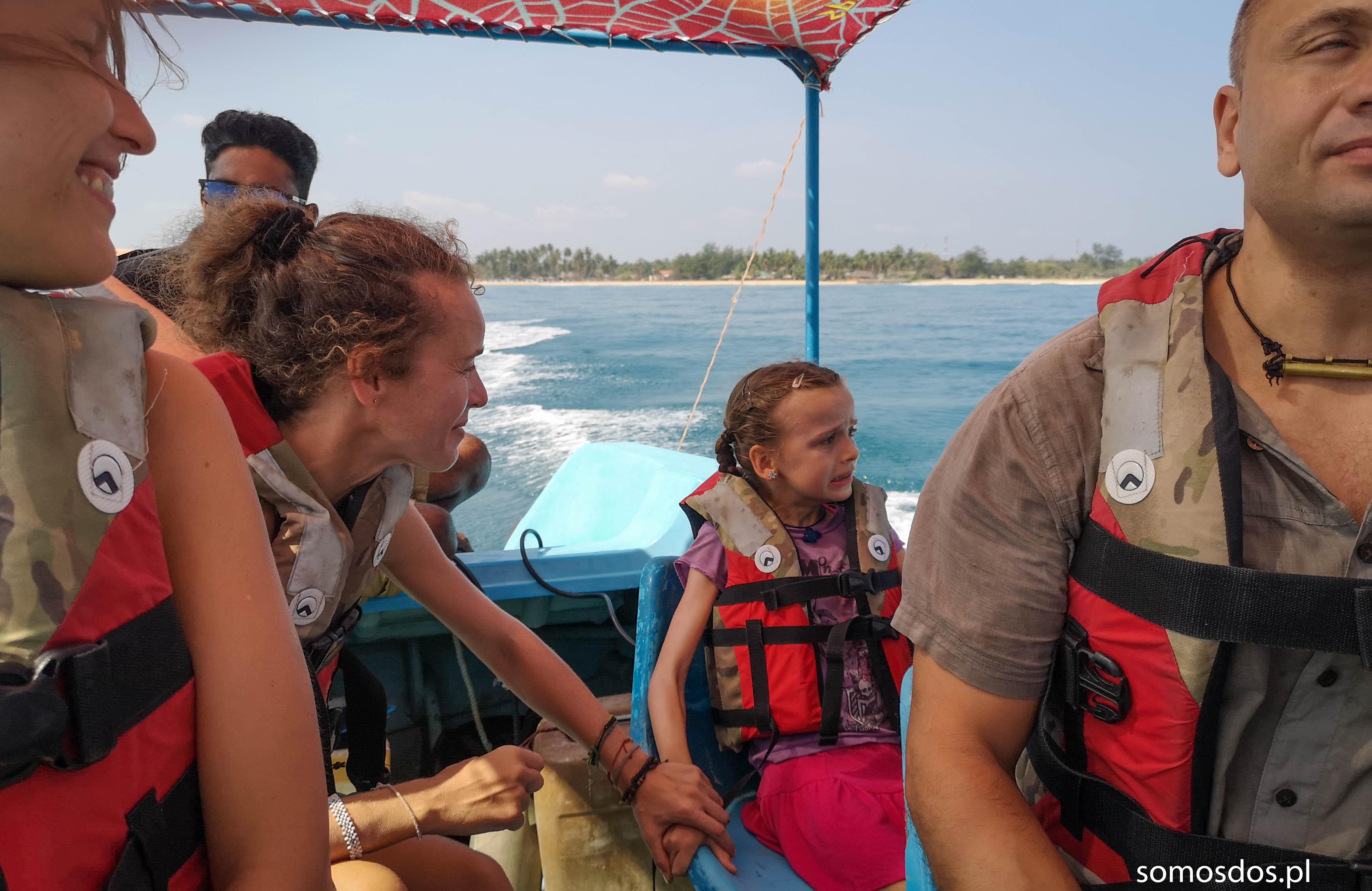 Gaj na łódce