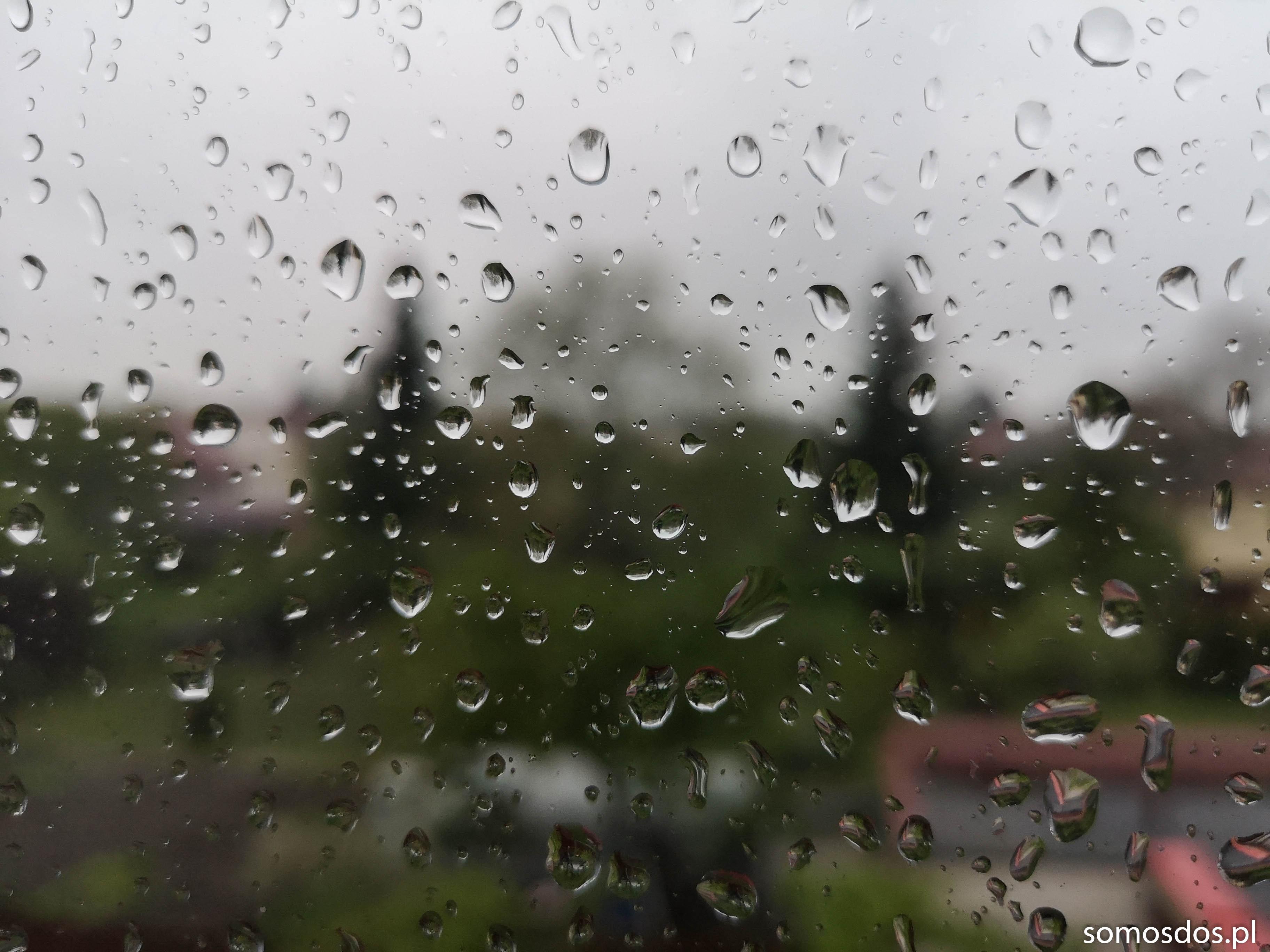 deszcz na moim oknie