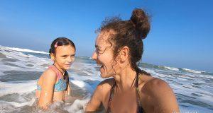 Morskie szaleństwa, kąpiel w morzu
